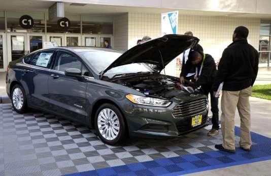 La Ford Fusion hybride.