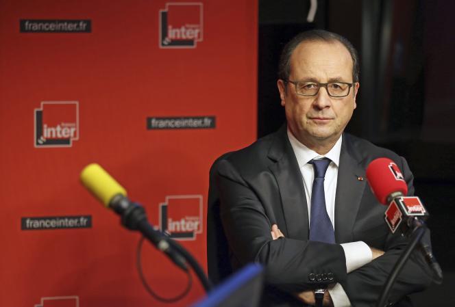 Lors de son intervention au micro de France Inter, le 5 janvier, François Hollande s'est prononcé en faveur d'une taxe reposant sur une assiette élargie et un taux bas.