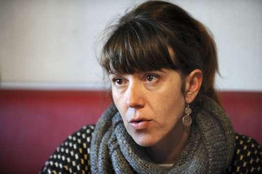 Aurore Martin le 5 janvier à Bayonne.
