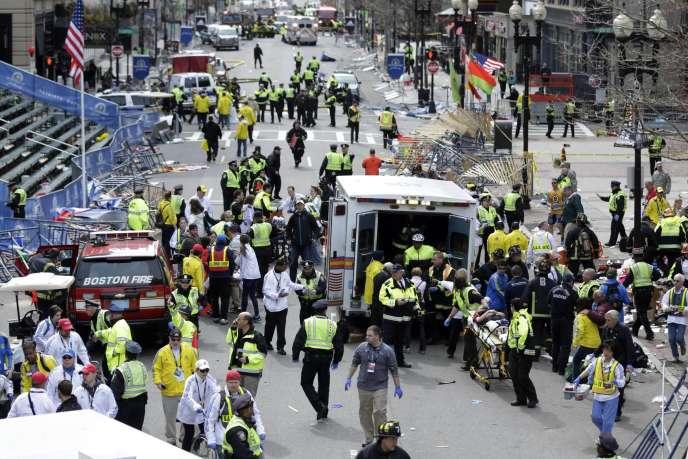 Les attentats de Boston, le 15 avril 2013, ont fait trois morts et 264 blessés.