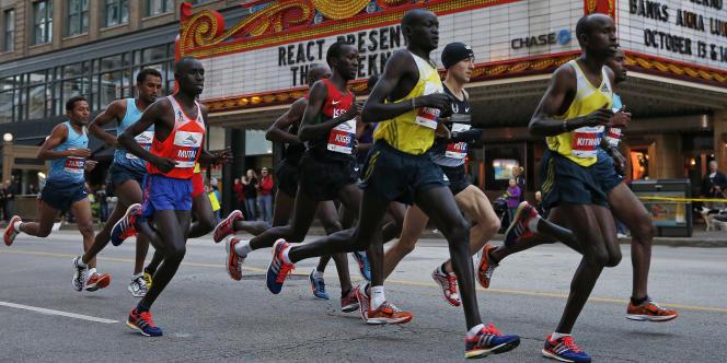 Marathon de Chocago, en 2013.