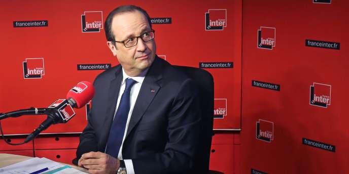 François Hollande effectue sa rentrée médiatique sur France Inter lundi 5 janvier.