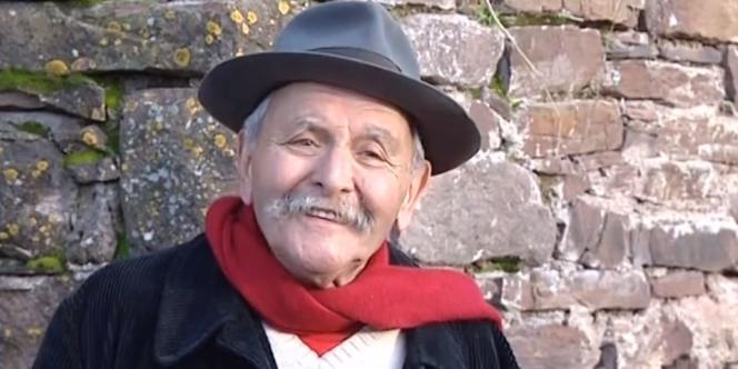Yves Rouquette, dans un extrait d'une vidéo de France 3 Midi-Pyrénées.