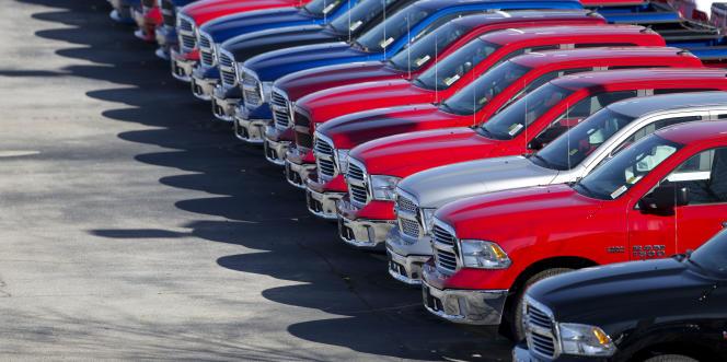 Fiat Chrysler est accusé d'avoir caché la présence d'un logiciel sur ses pick-up Dodge Ram 1500.