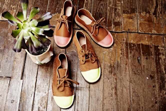 Chaussures en cuir de Kudu.