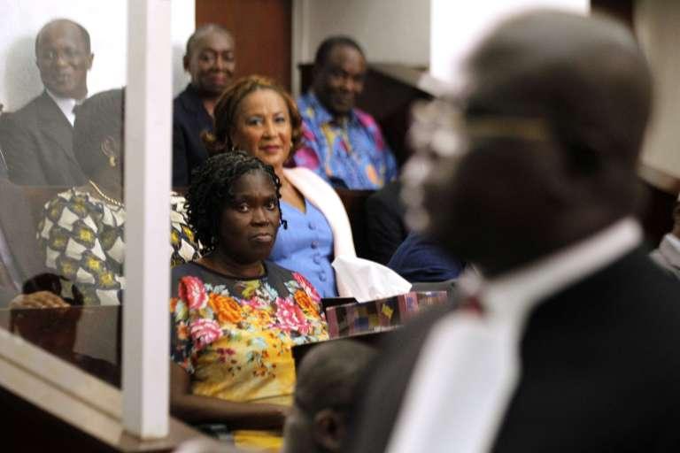 Simone Gbagbo, en décembre 2014 à Abidjan.