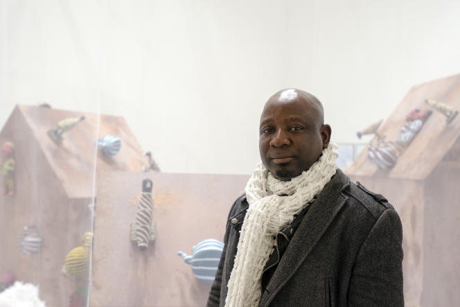 L'artiste plasticien camerounais Barthélémy Toguo.