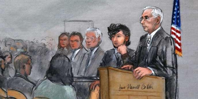 L'unique accusé des attentats de Boston a fait face lundi 5 janvier pour la première fois aux jurés potentiels qui devront décider s'il doit ou non être exécuté.