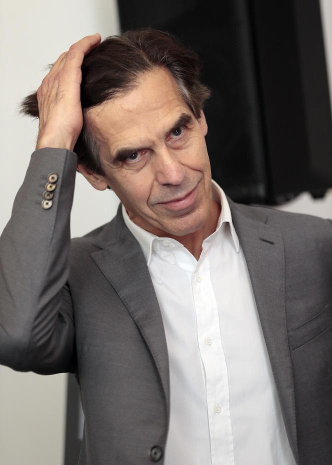Laurent Bayle à la Salle Pleyel à Paris, le 4 juin 2013.