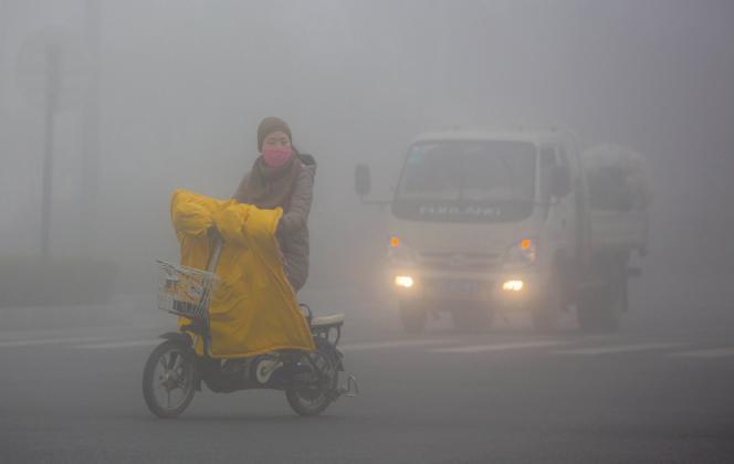 A Lianyungang, dans la province du Jiangsu, le 5 janvier.