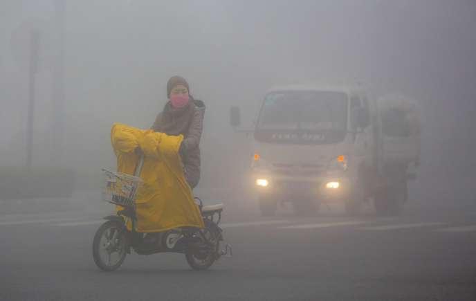 A Lianyungang, le 5 janvier.