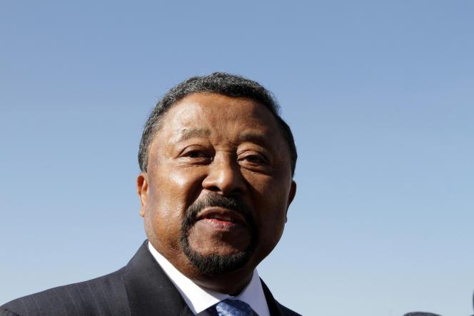 L'ancien président de la Commission de l'Union africaine, Jean Ping, à Addis Abeba, le 29 janvier 2012.
