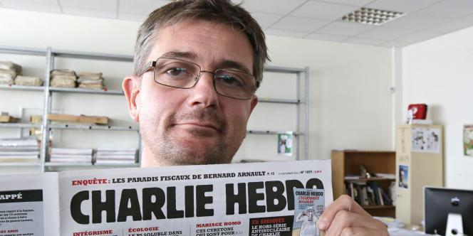 Charb, directeur de la publication de