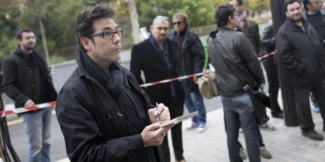 Le dessinateur Tignous, en novembre 2011.
