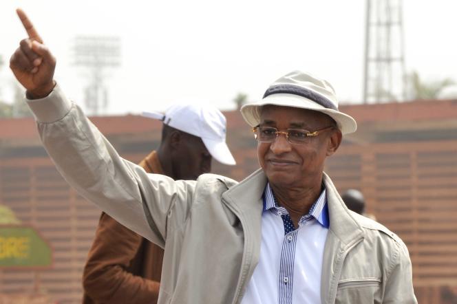 Cellou Dalein Diallo, chef du principal parti d'opposition, à Conakry le 7 janvier.