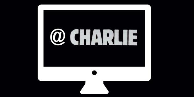 D'innombrables messages de soutien à Charlie Hebdo ont inondé la toile mercredi 7 janvier.