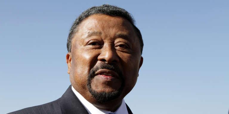 Jean Ping, ancien président de la commission de l'Union africaine et principal opposant au régime du président gabonais, Ali Bongo, en janvier 2012.