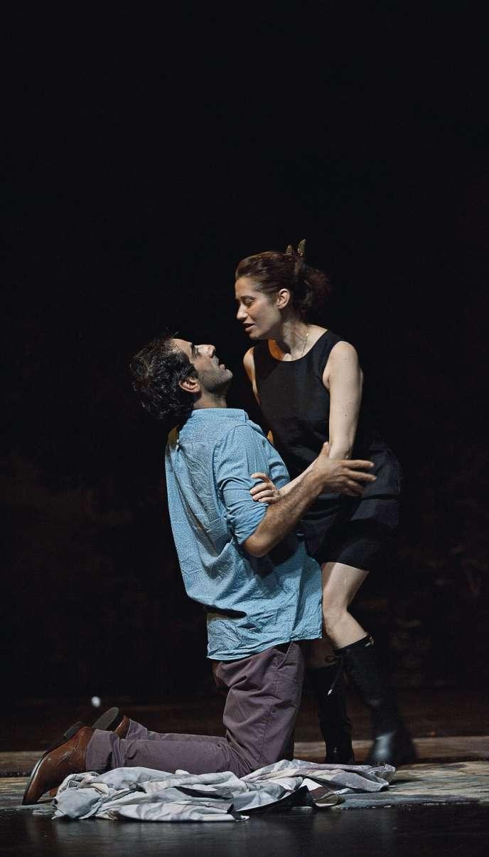 Christophe Paou et Emmanuelle Devos dans