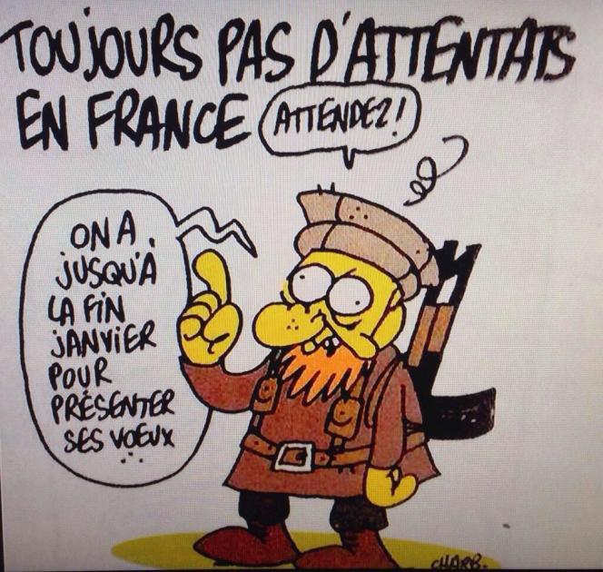 Le dernier dessin de Charb, paru dans
