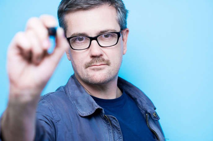 Charb (Stephane Charbonnier), à l'occasion du 6e salon international du livre au format de poche