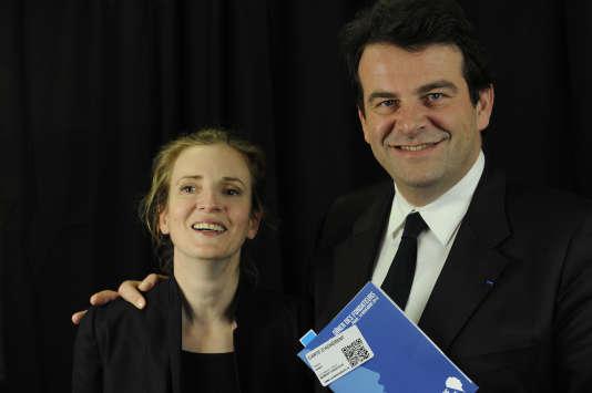 Nathalie Kosciusko-Morizet et Thierry Solère, en 2012, à Paris.