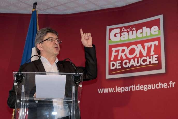 Jean-Luc Mélenchon, le 8 janvier à Paris.