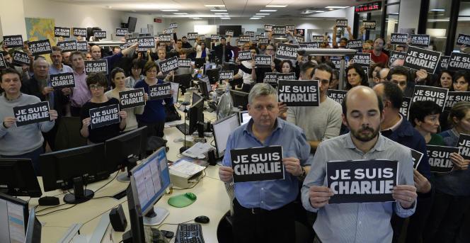A l'agence France Presse, le mercredi 7 janvier.