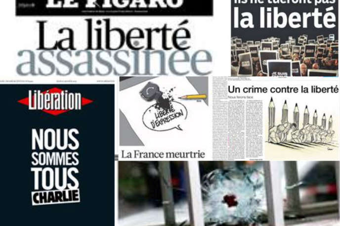 Les Unes de la presse jeudi 8 janvier.