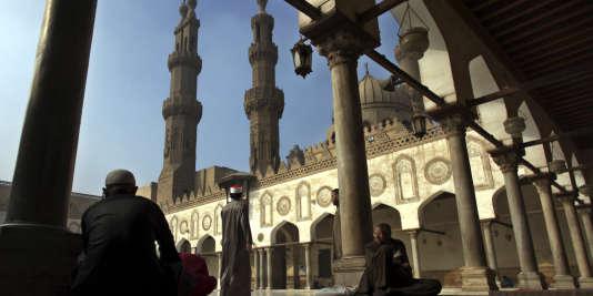 La mosquée Al-Azhar au Caire, en Egypte, le 28 décembre 2012.