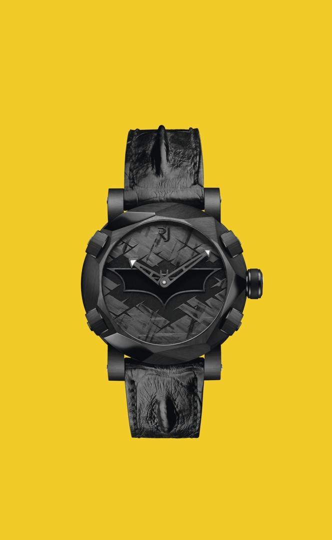 Romain Jerome crée une montre pour les 75 ans de Batman.