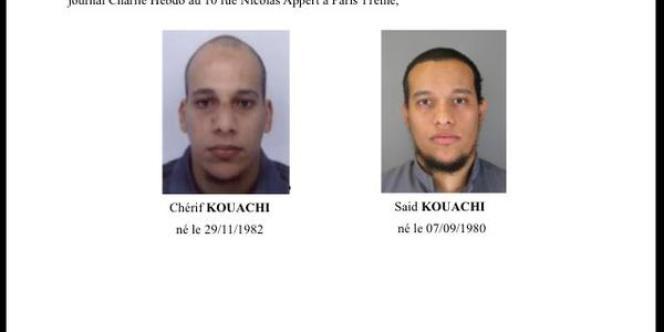Appel à témoins lancé par la préfecture de Paris.