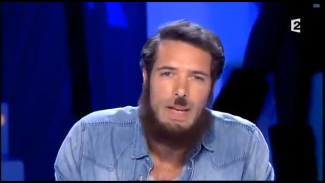 Nicolas Bedos dans le cadre de l'émission