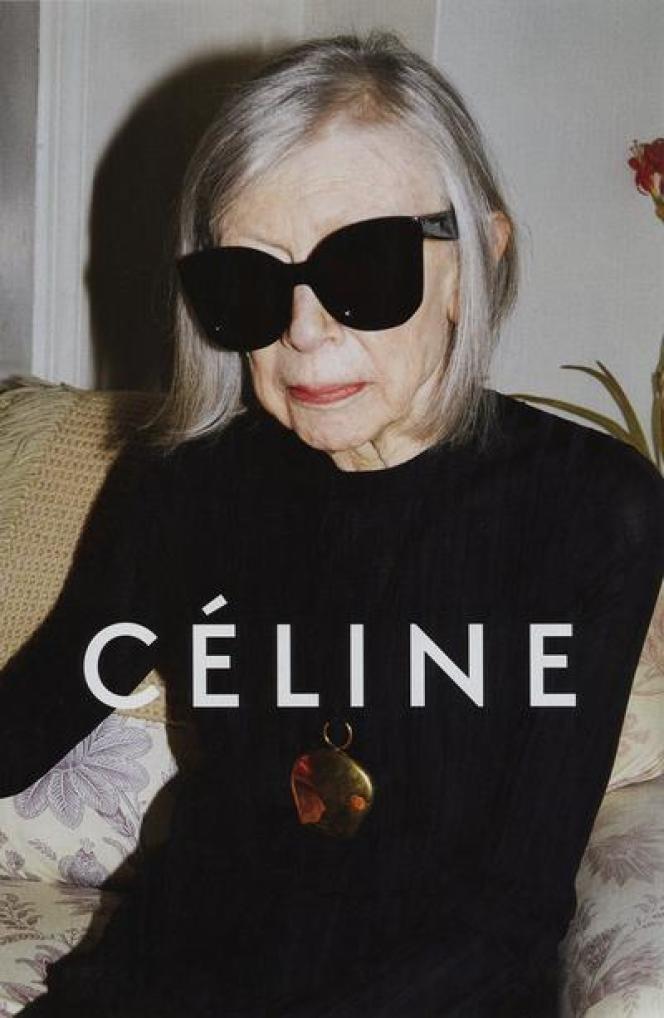 La romancière Joan Didion, nouveau visage de Céline