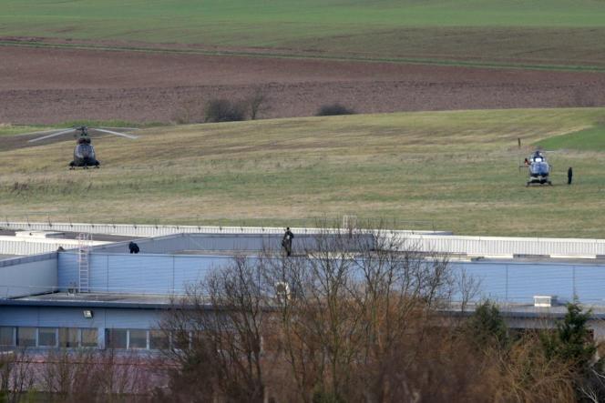 L'imprimerie de Dammartin-en-Goële (Seine-et-Marne) le 9 janvier.