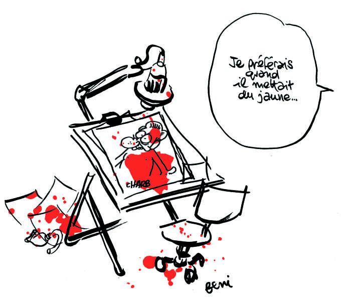 Dessin de Jean-Yves Ferri pour