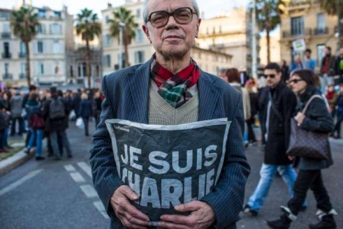Manifestation le 10 janvier 2015 à Marseille.