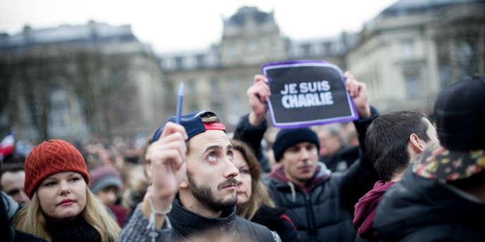 Manifestation à Lille le 10 janvier 2015.