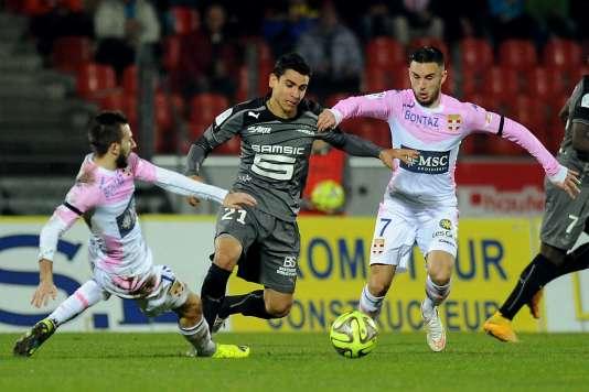 Evian a terminé 18e de Ligue1 la saison dernière. Avec la réforme voulue par la LFP, le club haut-savoyard ne serait pas descendu.