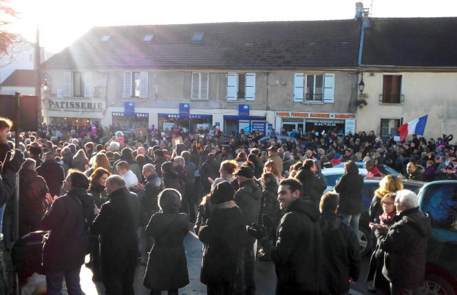 A Dammartin-en-Goële, le 11janvier.