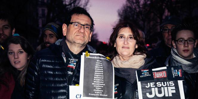 Michel et Martine Zeitoun, lui, 54 ans, médecin, et et elle, 55 ans, professeure de lettres.