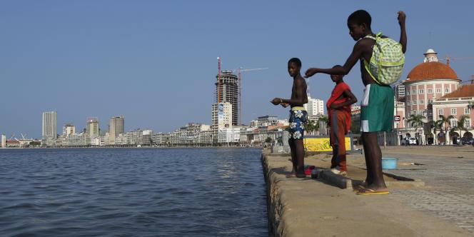 A Luanda, capitale de l'Angola, en janvier 2010.