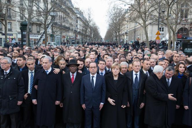 50 chefs d'Etat ainsi qu'une bonne partie de la classe politique française ont défilé dimanche 11 janvier lors de la marche pour la République.