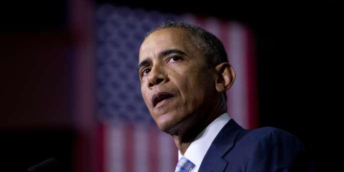 Barack Obama, président des Etats-Unis, le 9janvier.