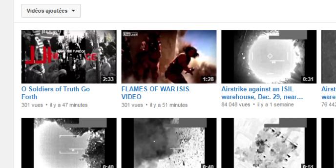 Le compte YouTube du CentCom a été piraté le 12janvier.