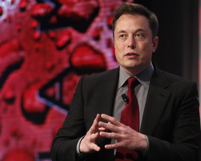 Elon Musk à Detroit, le 13 janvier.