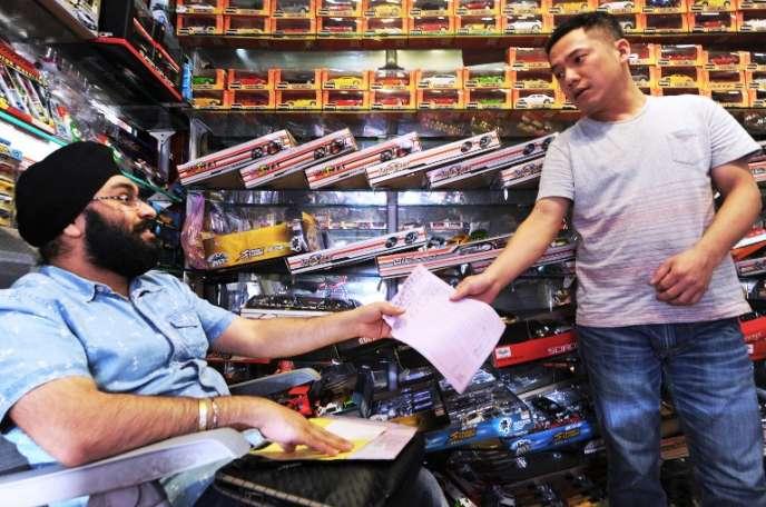 Le marché de gros de Yiwu est le plus important du monde.