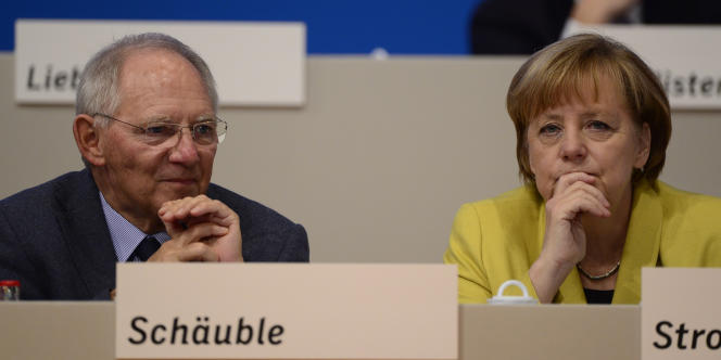 L'orthodoxie budgétaire était une promesse de campagne des conservateurs de Mme Merkel et de Wolfgang Schäuble aux législatives de 2013.