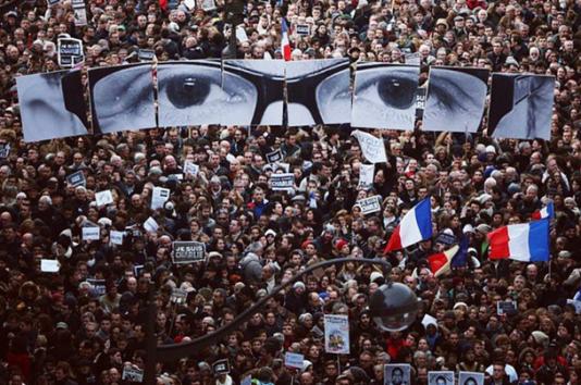Lors de la Marche républicaine, dimanche 11 janvier à Paris.