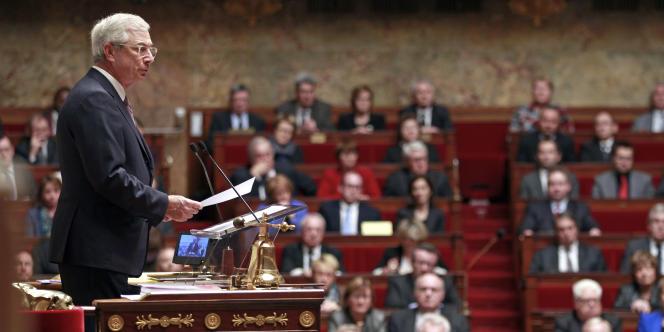 Claude Bartolone, le 13 janvier à l'Assemblée nationale.