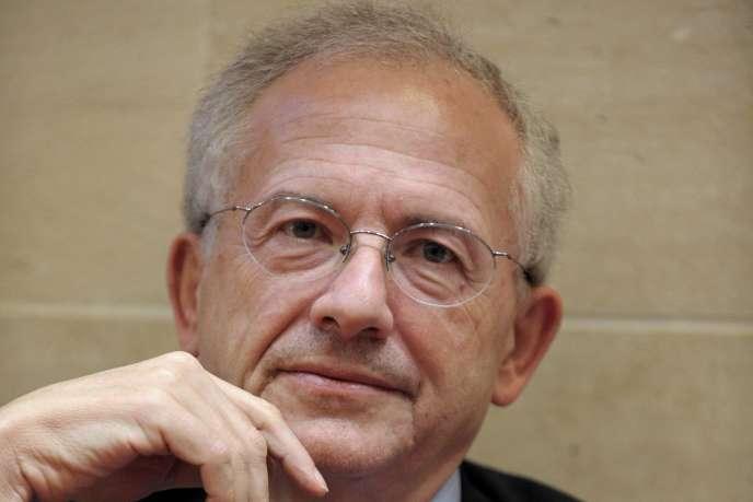 Le président du CSA, Olivier Schrameck, le 13 janvier 2015.